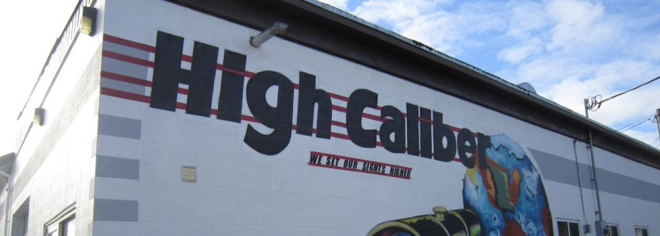 High Caliber Auto Collision & Repair - our shop